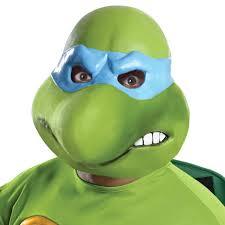 Ninja Turtle Womens Halloween Costumes Teenage Mutant Ninja Turtles Leonardo 3 4 Costume Mask