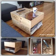 wine crate coffee table very cool coffee table made out of wine crates all things wine