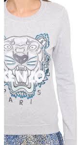 kenzo tiger sweatshirt shopbop