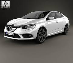 new renault megane sedan renault 3d models hum3d