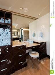 modern bathroom with cabinets and stool stock image modern bathroom with cabinets and stool