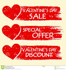 valentines sale valentines day sale and discount special offer with hearts in r