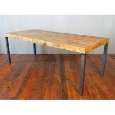 rustic metal and wood dining table furniture gorgeous dining room ideas with dark cherry wood flooring