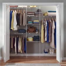 closet storage closetmaid ft closet organizer with shoe rack