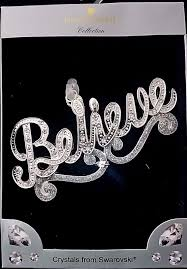 harvey lewis collection 2016 silver luxury ornament believe