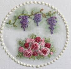 silk ribbon embroidery val laird designs journey of a stitcher silk ribbon embroidery