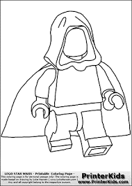 lego star wars blank young anakin skywalker walking cloak