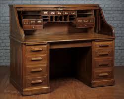 edwardan oak roll top desk c 1905 antiques atlas
