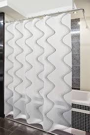 shower curtain rail rod 4 way use l or u shape with ceiling