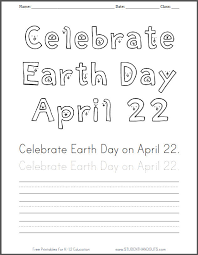 100 ideas free earth day worksheets for elementary students on
