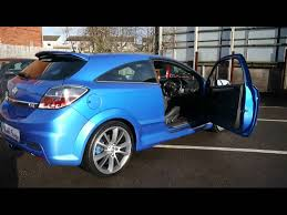 opel astra opc 2005 2009 vauxhall astra vxr 2 0t 240bhp blue for sale in hampshire