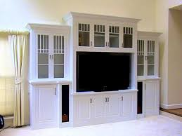 wall units astounding custom tv cabinets built in appealing