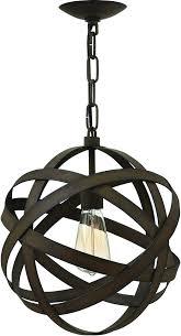Pendant Light Rods Save On Fredrick Ramond Carson 1 Light Mini Pendant Vintage Iron