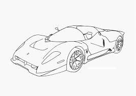 drawn ferrari race car pencil and in color drawn ferrari race car