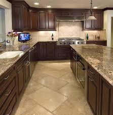 Stone Tile Kitchen Floors - best 25 stone backsplash ideas on pinterest stacked stone