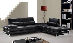 Leather Modern Sofa by Sofa Amazing Black Leather Modern Sofa Amazing Home Design