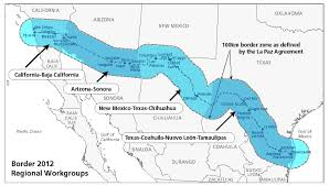 map us mexico border states clipart us map mexico border