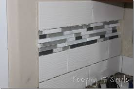 How To Tile A Kitchen Backsplash How To Install A Kitchen Back Splash With Wavecrest And Mosaic