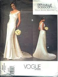 vogue wedding dress patterns lace not glitter fabric v1032 great dress topshoppromqueen