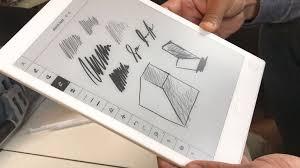 design tablet remarkable s lag free e ink sketch tablet arrives in august cnet