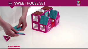 2016 new magformers sweet house set youtube