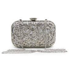 designer clutches milisente designer clutches bag metal gold flower