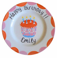 personalized birthday plate personalized birthday plates baby gifts shower gifts baby
