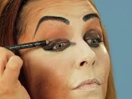 cool cat eye makeup halloween images
