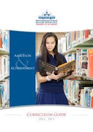 ishcmc american academy curriculum guide 2012 2013 by ishcmc issuu