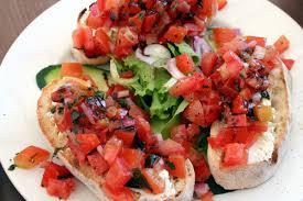 Mediterranean Style Food - meatless monday mediterranean style