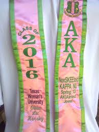 aka graduation stoles pin by morrow cliett on graduation stole