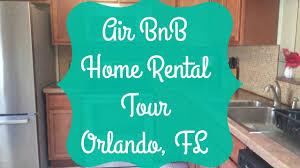 house rental orlando florida airbnb home rental tour orlando fl youtube