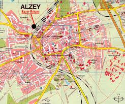 Germany City Map by Alzey City Map Alzey Germany U2022 Mappery