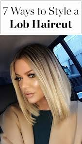 short haircuts middlelobe baby locks hairstyle lob haircut lob and khloe kardashian