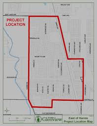 Illinois Flooding Map by Village Of Glenview Residents East Of Harms Regional Stormwater