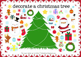 decorate the tree printable activity printables 4