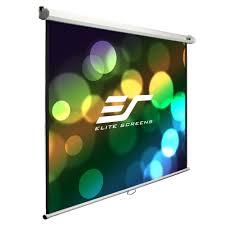 retractable home theater screen projectors u0026 screens home electronics the home depot