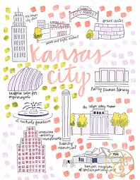 Kansas how do you spell travelling images Kansas city mo map print city maps kansas and city jpg
