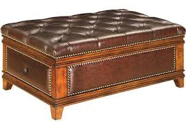 brown ottomans storage coffee table u0026 more