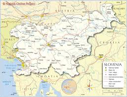 Italy Map Cities Political Map Of Slovenia Nations Online Project