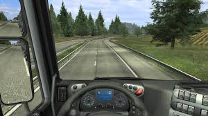 german truck simulator iveco stralis heavy load drive wiith manual