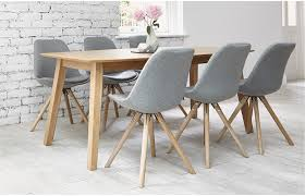 dining room chairs fabric beautiful dining table and fabric chairs rustic oak ft with grey