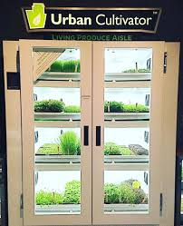 microgreens these urban cultivator fridges have automated light
