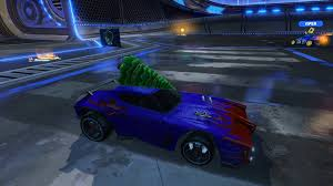 the only christmas car we need in the next event crate rocketleague