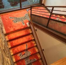 Leopard Runner Rug Climbing Tiger From The Rug Company Stair Runners Pinterest