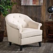 shop best selling home decor silvan beige herringbone club chair
