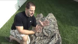 Layout Hunting Blinds How To Mud A Layout Hunting Blind Youtube
