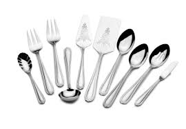 Modern Flatware Sets by St James French Country Bead 82 Piece 18 10 Stainless Steel
