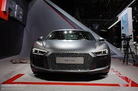 Audi R8 Exterior 2016 Audi R8 V10 Reveals The Next Era Of German Supercars In