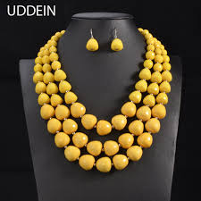 indian bead jewelry necklace images Uddein 3color online shipping india wedding jewelry sets multi jpg